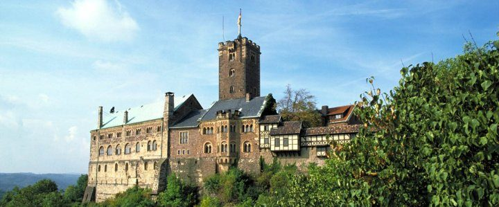 Luther's footsteps – Germany