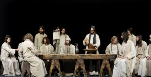 Last supper, Oberammergau